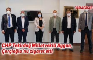 CHP Tekirdağ Milletvekili Aygun, Çerçioğlu'nu...