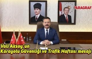 Vali Aksoy'un Karayolu Güvenliği ve Trafik Haftası...