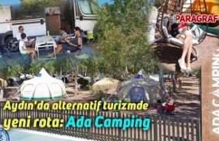 Aydın'da alternatif turizmde yeni rota: Ada...