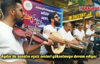 Aydın'da sanatın eşsiz sesleri yükselmeye devam...