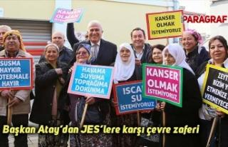 Başkan Atay'dan JES'lere karşı çevre zaferi