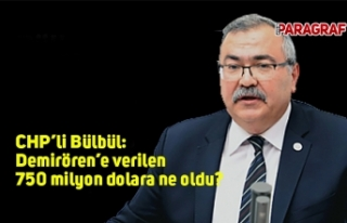 CHP'li Bülbül: Demirören'e verilen 750 milyon...