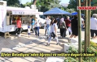 Efeler Belediyesi'nden öğrenci ve velilere duyarlı...