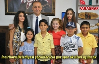 İncirliova Belediyesi çocuklar için yaz spor okulları...