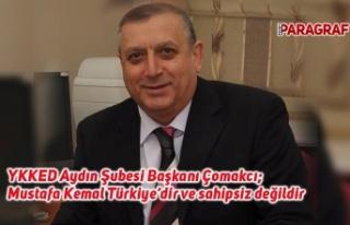 YKKED Aydın Şubesi Başkanı Çomakcı; Mustafa...