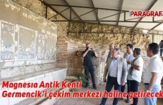 Magnesıa Antik Kenti Germencik'i çekim merkezi...