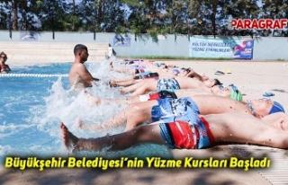 Aydın Büyükşehir Belediyesi'nin Yüzme Kursları...
