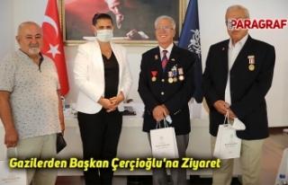Gazilerden Başkan Çerçioğlu'na Ziyaret