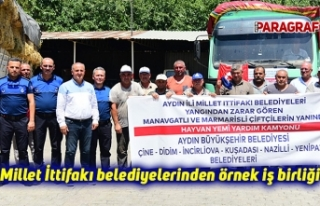 Millet İttifakı belediyelerinden örnek iş birliği