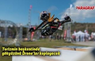Turizmin başkentinde gökyüzünü Drone'lar kaplayacak