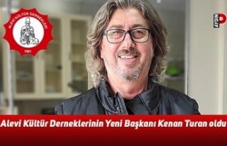 Alevi Kültür Derneklerinin Yeni Başkanı Kenan...