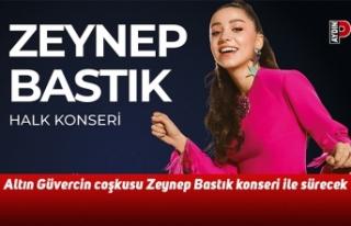 Altın Güvercin coşkusu Zeynep Bastık konseri ile...