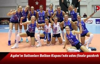 Aydın'ın Sultanları Balkan Kupası'nda...