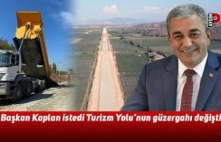 Başkan Kaplan istedi Turizm Yolu'nun güzergahı...