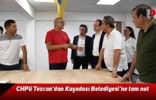 CHP'li Tezcan'dan Kuşadası Belediyesi'ne...