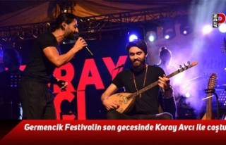 Germencik Festivalin son gecesinde Koray Avcı ile...