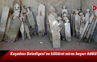 Kuşadası Belediyesi'ne kültürel miras başarı...
