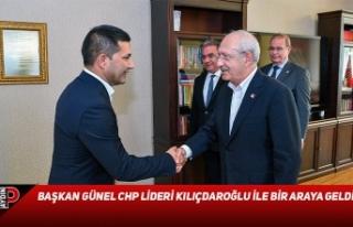 BAŞKAN GÜNEL CHP LİDERİ KILIÇDAROĞLU İLE BİR...