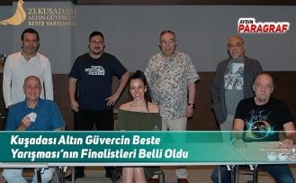 Kuşadası Altın Güvercin Beste Yarışması'nın Finalistleri Belli Oldu