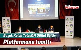Başak Koleji TalesON Dijital Eğitim Platformunu tanıttı