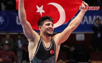 Cengiz Arslan dünya üçüncüsü oldu