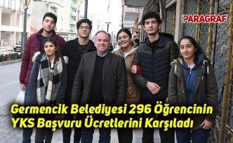 Germencik Belediyesi 296 Öğrencinin YKS Başvuru Ücretlerini Karşıladı