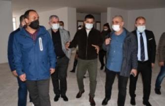 Türkiye'nin 3'üncü büyük cemevinin yapımı tamamlanıyor
