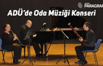 ADÜ'de Oda Müziği Konseri