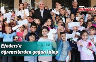 Efeders'e öğrencilerden yoğun talep
