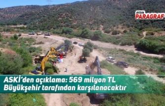 ASKİ'den açıklama: 569 milyon TL Büyükşehir tarafından karşılanacaktır