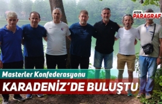 Masterler Konfederasyonu Karadeniz'de Buluştu