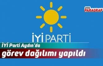 İYİ Parti Aydın'da görev dağılımı yapıldı
