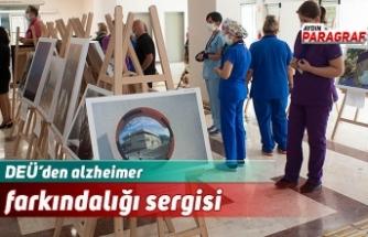 DEÜ'den alzheimer farkındalığı sergisi