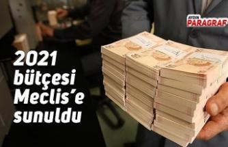 2021 bütçesi Meclis'e sunuldu