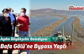 Aydın Büyükşehir Belediyesi Bafa Gölü'ne Bypass Yaptı