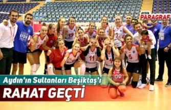 Aydın'ın Sultanları Beşiktaş'ı RAHAT GEÇTİ