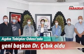 Aydın Tabipler Odası'nda yeni başkan Dr. Çıbık oldu