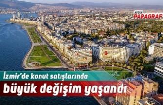 İzmir'de konut satışlarında büyük değişim yaşandı