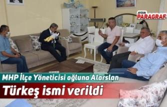 MHP İlçe Yöneticisi oğluna Alarslan Türkeş ismi verildi