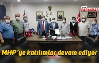 MHP'ye katılımlar devam ediyor