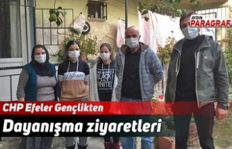 CHP Efeler Gençlikten Dayanışma Ziyaretleri