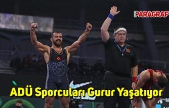 ADÜ Sporcuları Gurur Yaşatıyor