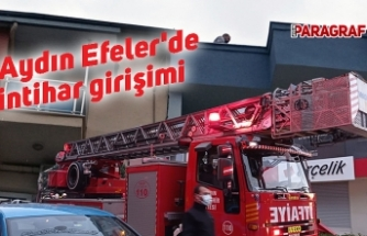 Aydın Efeler'de intihar girişimi