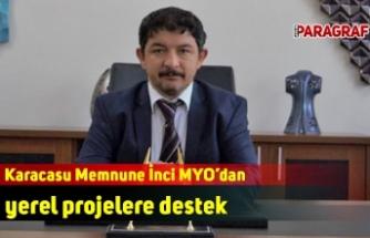 Karacasu Memnune İnci MYO'dan yerel projelere destek