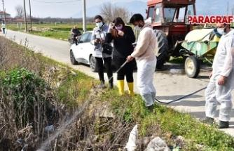 İncirliova Belediyesi'nden erken tedbir ve bilinçli ilaçlama