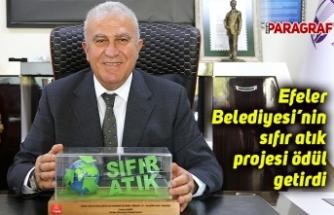 Efeler Belediyesi'nin sıfır atık projesi ödül getirdi