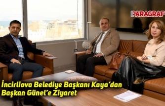 İncirliova Belediye Başkanı Kaya'dan Başkan Günel'e Ziyaret