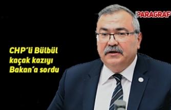 CHP'li Bülbül kaçak kazıyı Bakan'a sordu