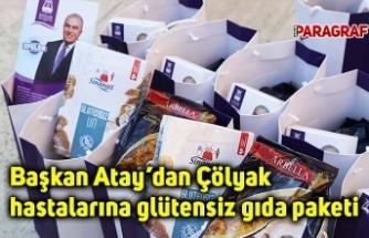 Başkan Atay'dan Çölyak hastalarına glütensiz gıda paketi