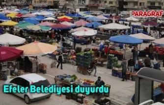 Efeler Belediyesi duyurdu